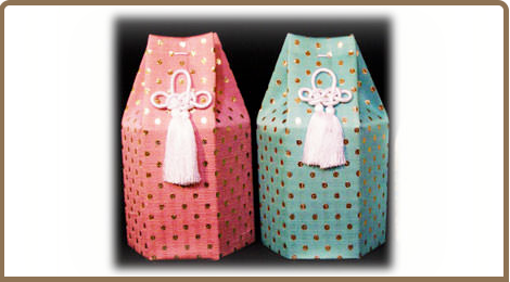 水玉骨覆い袋